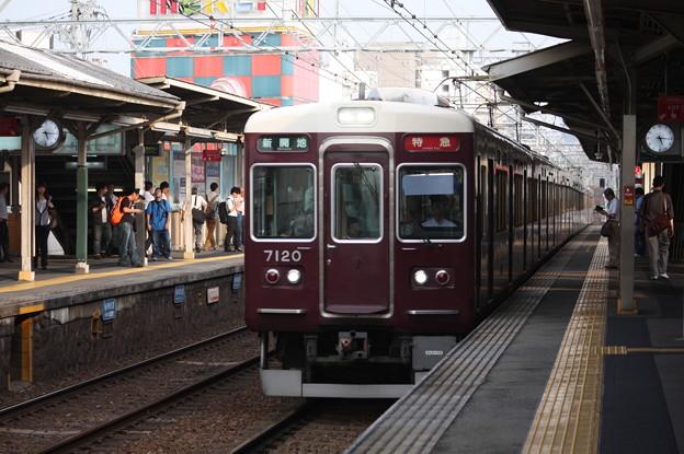 阪急7000系7020F