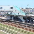 Photos: 高萩駅とE531系