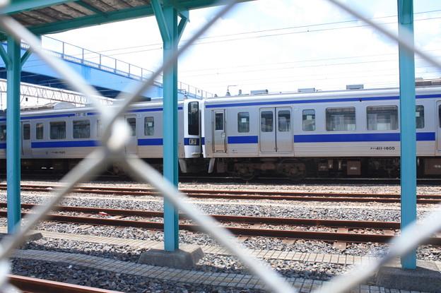 Photos: 高萩駅留置されている415系1500番台 (15)