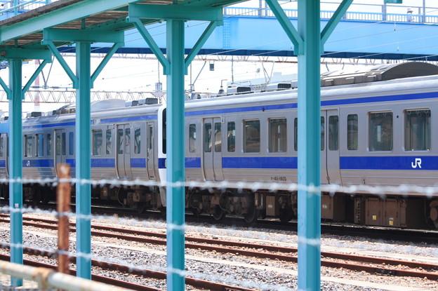 Photos: 高萩駅留置されている415系1500番台 (18)