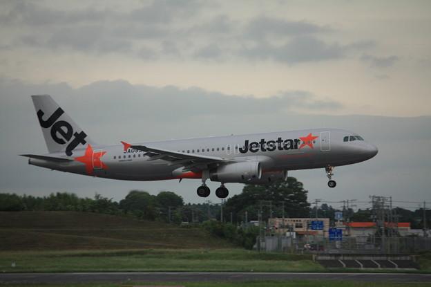 ジェットスタージャパン エアバスA320-200 JA09JJ