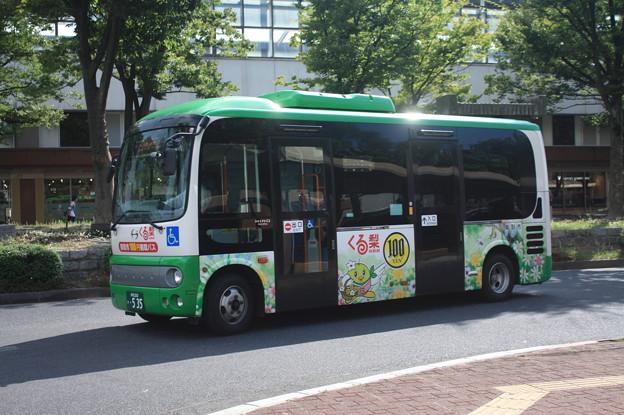 100円循環バス くる梨 緑コース