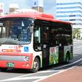 100円循環バス くる梨 赤コース