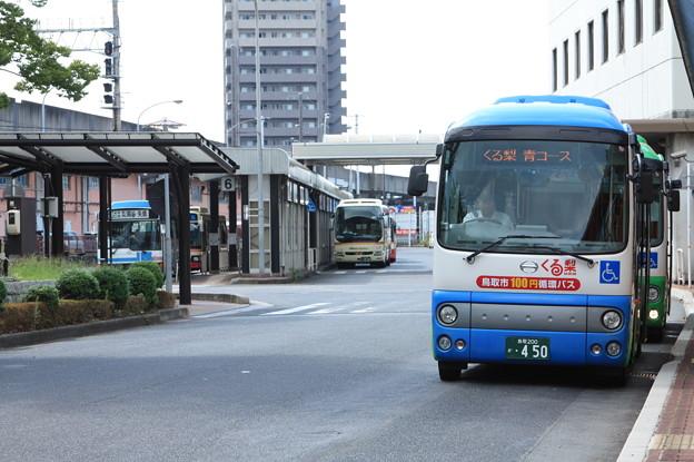 鳥取駅のバス