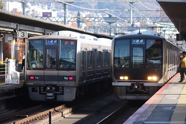 JR神戸線 207系1000番台S26編成&321系D37編成