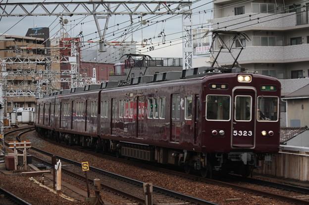 阪急京都線 5300系5323F