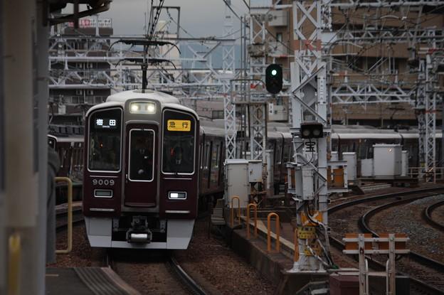 阪急宝塚線 9000系9009F