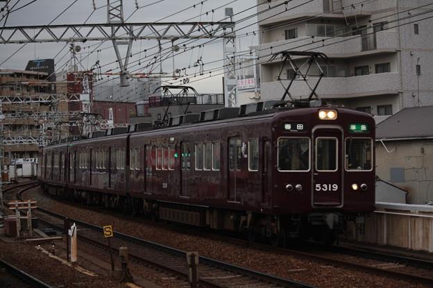 阪急京都線 5300系5319F