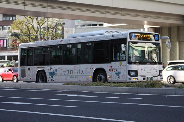 日本交通 サブローバス 新型エルガ