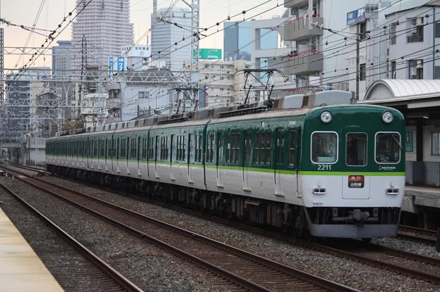 京阪本線 2200系2211F