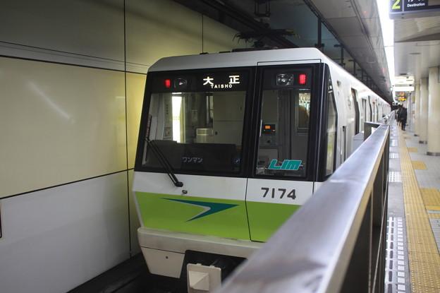 大阪市営地下鉄長堀鶴見緑地線 70系7124F