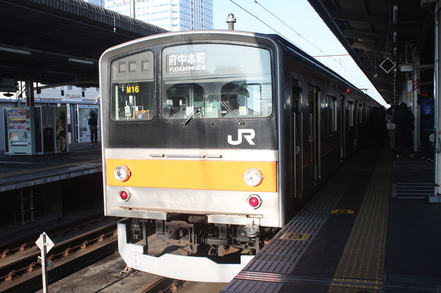 武蔵野線 205系ケヨM16編成