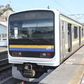 外房線 209系2000番台マリC607編成