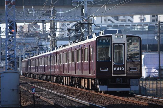 阪急京都線 8300系8310F