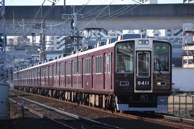 阪急京都線 8300系8311F
