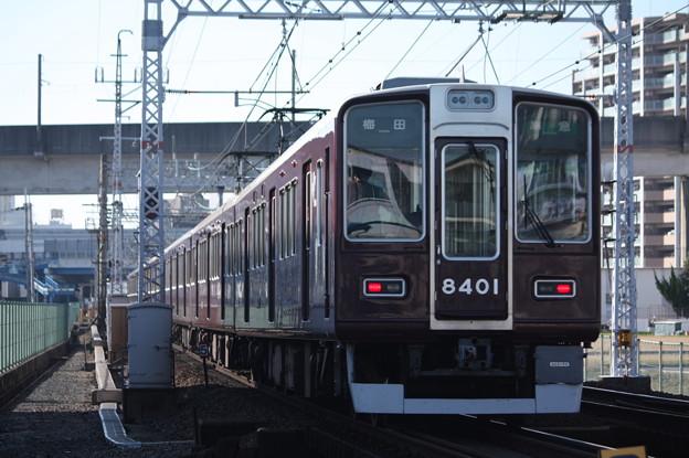阪急京都線 8300系8301F