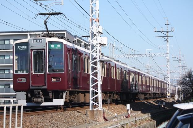 阪急京都線 8300系8315F
