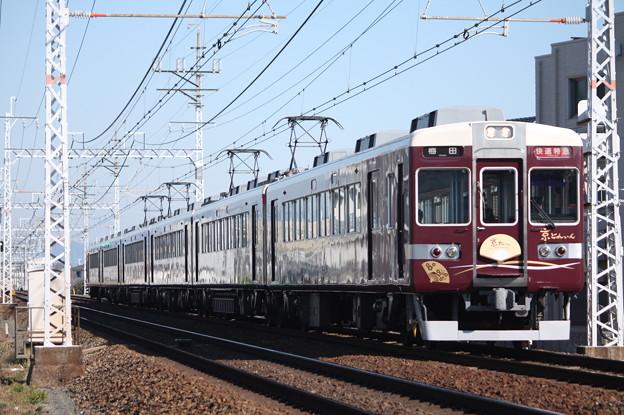 阪急京都線 6300系6354F 京とれいん