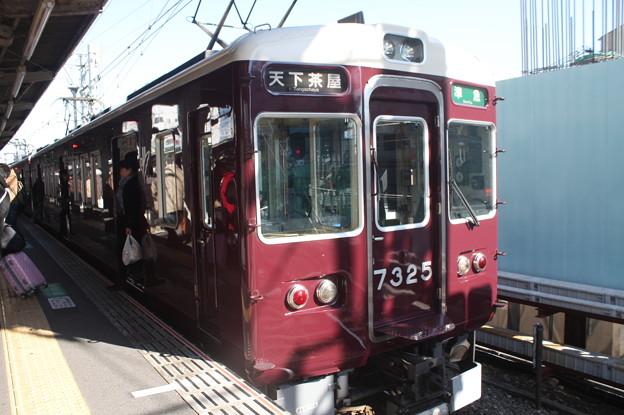 阪急千里線 7300系7325F