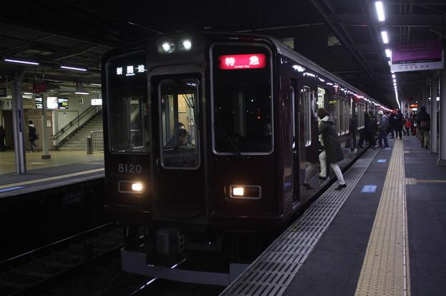 阪急神戸線 8000系8020F
