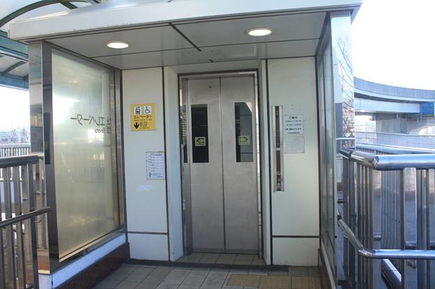 神戸新交通六甲ライナー マリンパーク駅 エレベーター