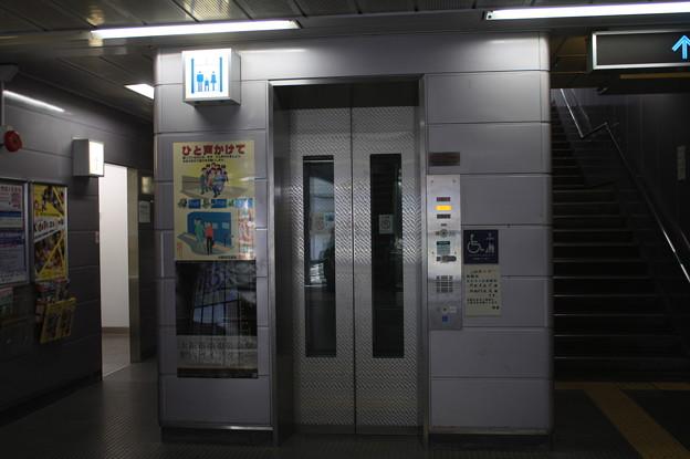 ニュートラム南港ポートタウン線 ポートタウン東駅 構内 エレベーター
