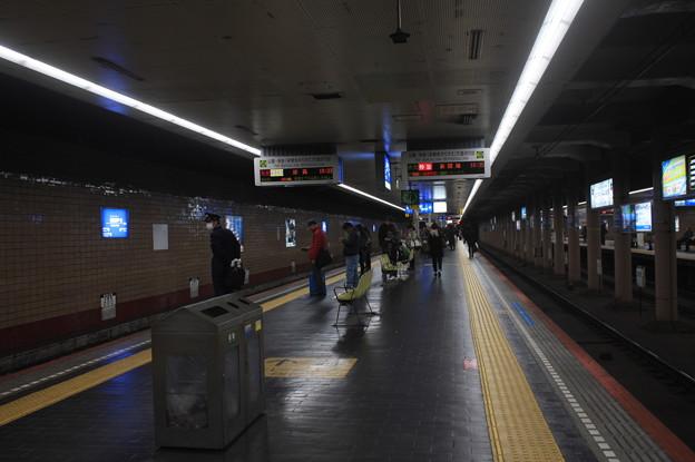 高速神戸駅 ホーム
