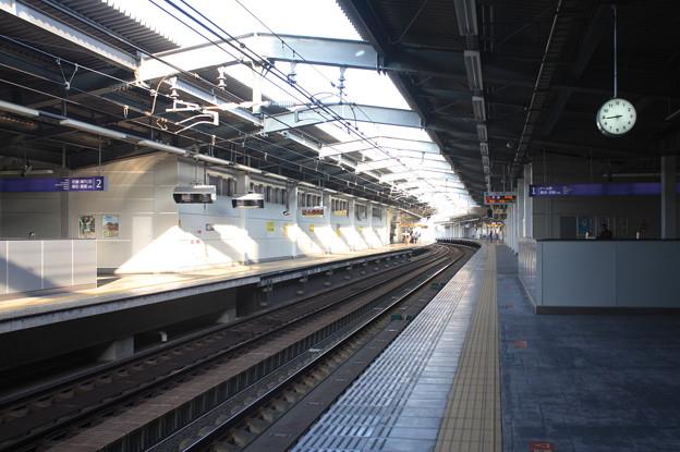 阪神なんば線 西九条駅 ホーム