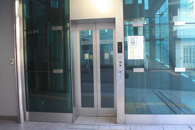 阪神なんば線 西九条駅 エレベーター