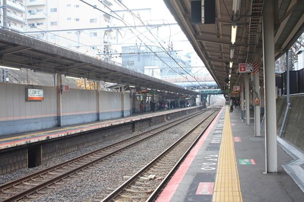 阪和線 三国ヶ丘駅 ホーム