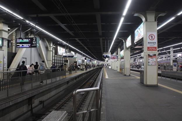 南海難波駅 ホーム