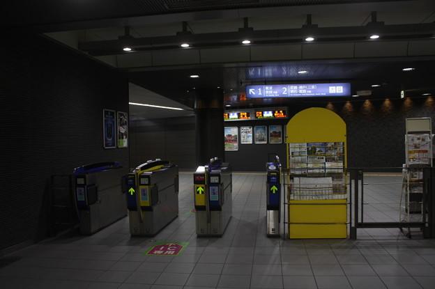 阪神なんば線 九条駅 改札口
