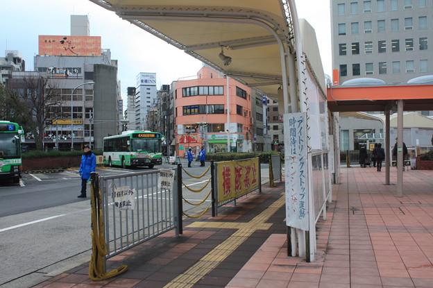 神戸市営バス 神戸駅 バスターミナル のりば