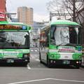 写真: 神戸市営バス 104号車・134号車