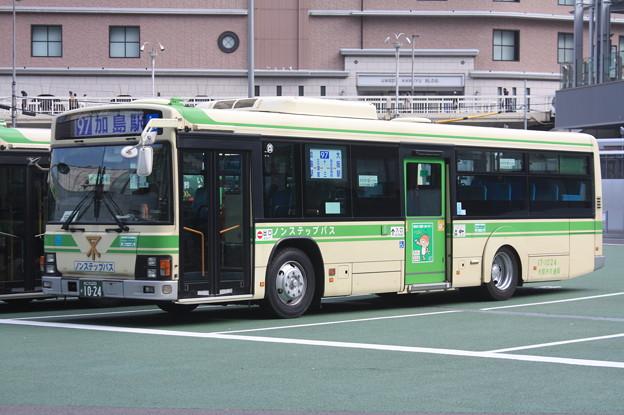大阪市営バス 17-1024号車