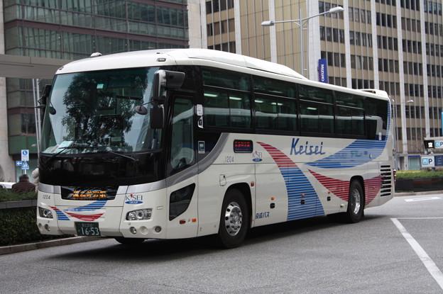 京成バス 1204号車