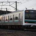 水戸線 E501系K751編成 762M 普通小山行 後追い