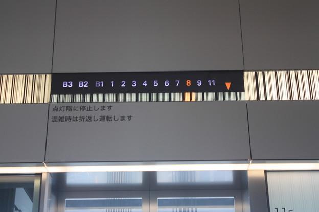 渋谷ヒカリエ エレベーター IMG_121810