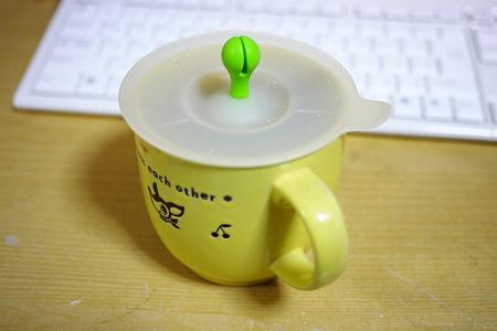 マグカップの地震対策
