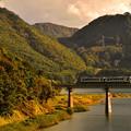 Photos: 夕暮れの錦秋湖