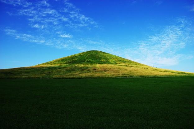 8月のモエレ山