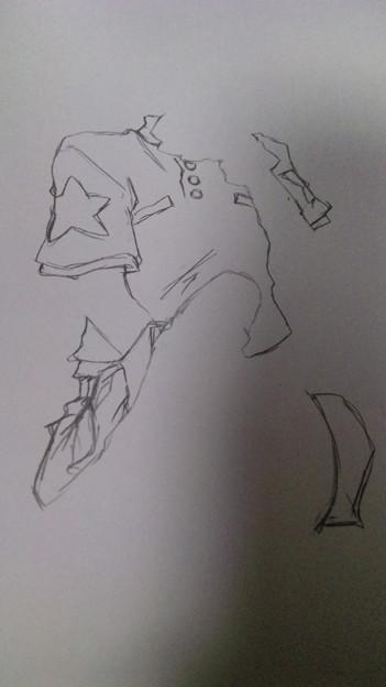 太一さん鉛筆でザカザカ描いたまんまじゃダメかなぁ〆( ・ω・*|
