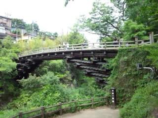 猿橋 側面