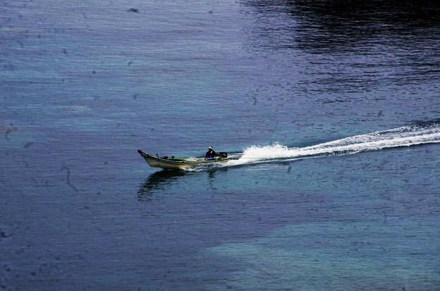 IMGP0401 ウニ漁の舟が