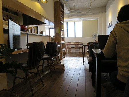SOIN Cafe 店内の様子