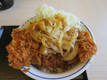 かつや上越店 牛カツ丼(期間限定)¥637