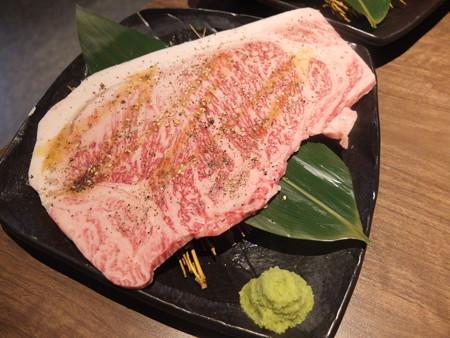焼肉モランボン 市役所前店 黒毛和牛のモランボンカルビ(塩)¥1814