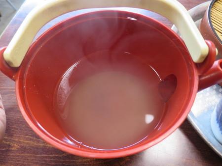 加藤そば屋 蕎麦湯