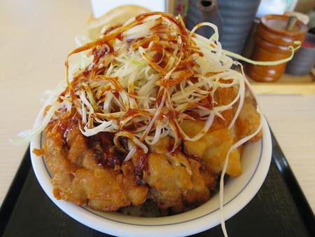 かつや上越店 甘辛から揚げ丼(期間限定)¥637