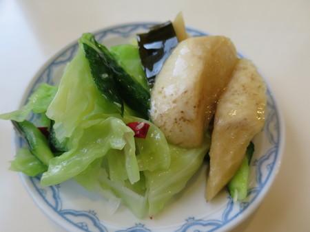 らー麺 天心 お漬け物(サービス)